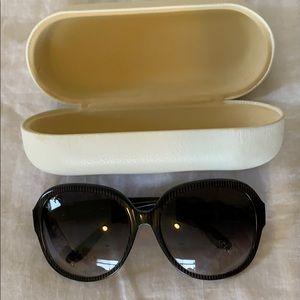Chloe pinstriped sunglasses